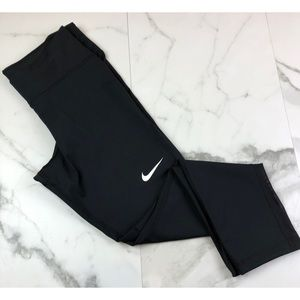 Nike• Black Leggings w/ Mesh Detailing